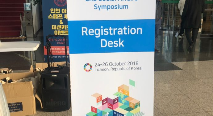 UNPOG Regional Symposium Commences in Songdo