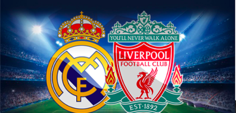 Logo of Real Madrid CF and Liverpool FC