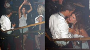 Ronaldo enjoying the party in Las Vegas, hotel Palms Place, on June 13, 2009, with Mayor-ga.
