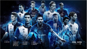 2019 FIFA world best 11, at the center of controversy
