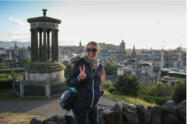 Anna Yacovene visits Edinburgh which is the capital of Scotland. This is one of many trips around the globe she has been apart of. (Photo: Anna Yacovene)