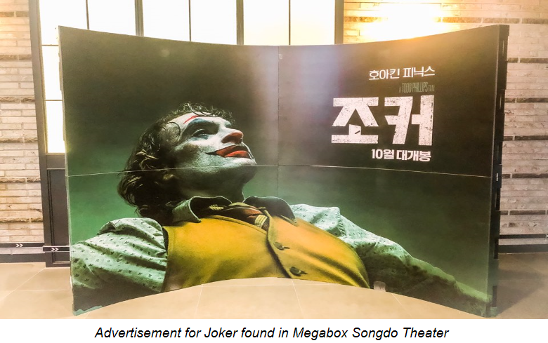 Polarizing acclaim for Joker draws large crowds to Megabox Songdo
