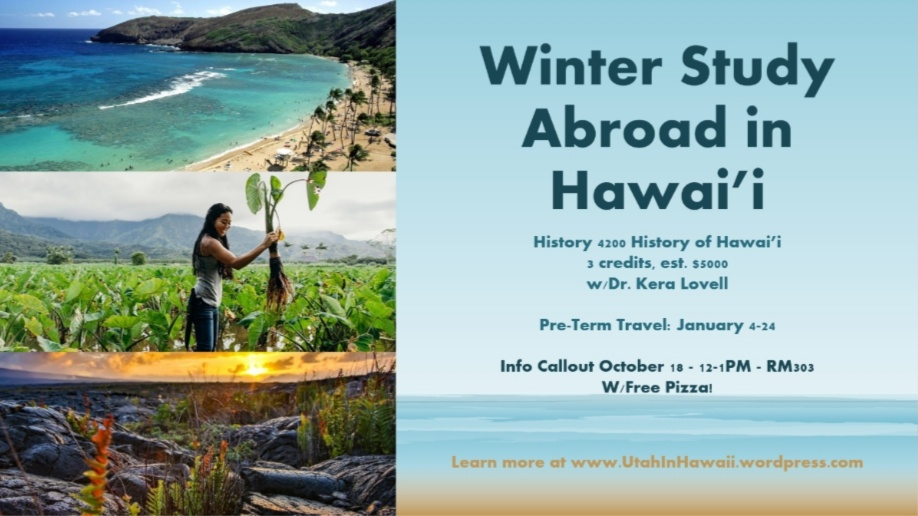UAC Winter Study Abroad in Hawai'i