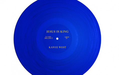"The new album cover of ""Jesus Is King"""