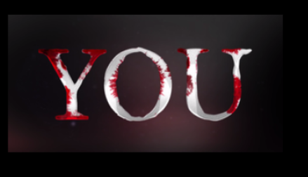 """You"" title-screen. Credit: Netflix"