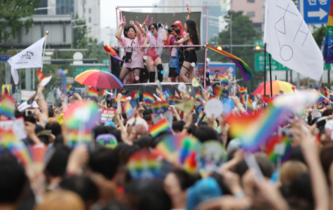 Seoul citizens and travelers from across Korea gather to celebrate Seoul Pride week in 2017. [Photo Credit: Google Images]