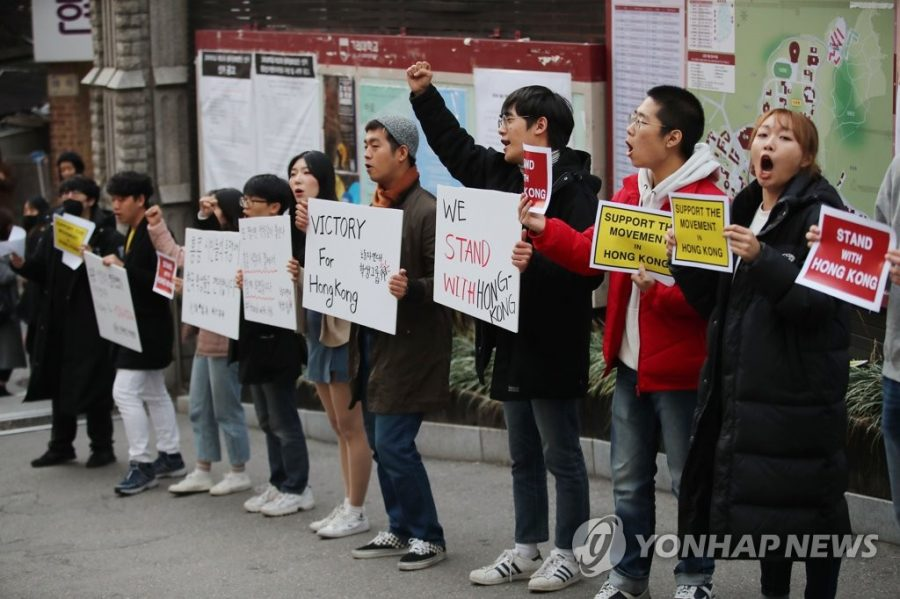 Students are protesting in hopes to reform the system. In reaction to IGC's housing fee increase, Student Council Union have proposed Protest/Boycott movement against applying for IGC dorms. Photo at courtesy of Yonhap news