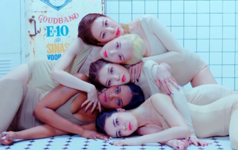 Black Swan members pose in one of the scenes from their most recent comeback. (Photo Courtesy of Black Swan's