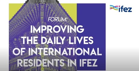 IFEZ used YouTube to host its forum in compliance with guidelines to prevent against COVID-19. (Image Courtesy of the IFEZ YouTube Channel).
