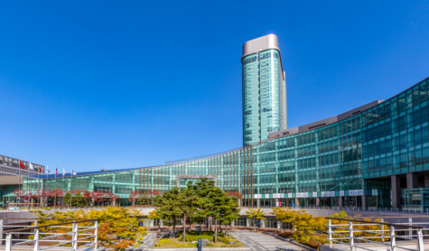 Incheon Global Campus in Songdo. Home to four international universities from Europe and the United States