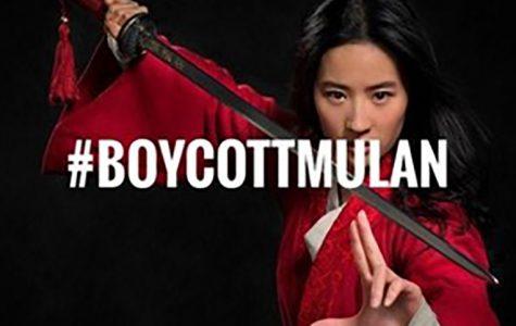 This image trended with the hashtag #BoycottMulan.  (Image Courtesy of Schnee J)