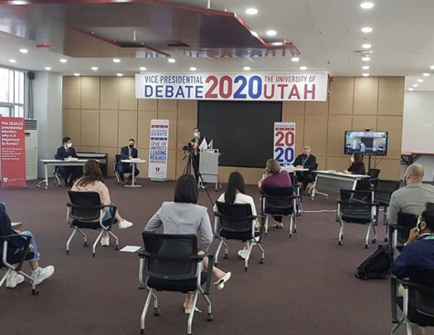 Another look at Utah Asia Campus Panel Discussion on U.S. Vice Presidential Debate